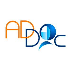 logo ADDOC, association de Doctorants et jeunes Docteur de l'Université Paris Sud