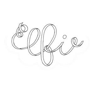 logo Elfie London, Children's Clothes